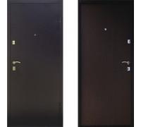 Металлическая дверь Промет BMD-2 Венге