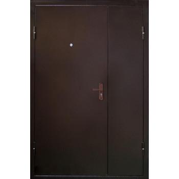 Металлическая дверь Промет двухстворчатая