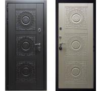Дверь входная металлическая СТОП Богема беленый дуб в квартиру с шумоизоляцией