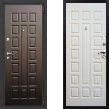 Металлическая дверь СТОП Лайт Беленый Дуб