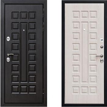 Металлическая дверь СТОП Сенатор Беленый Дуб Vinorit