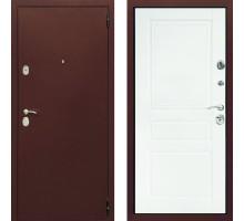 Дверь входная белая в квартиру СТОП Альт Белая матовая для квартиры