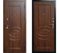 Дверь входная металлическая СТОП Ореон Дуб Коньячный
