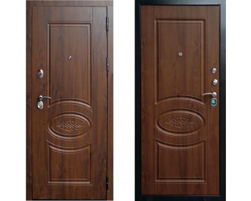 Дверь входная металлическая СТОП Ореон Дуб Коньячный в квартиру с шумоизоляцией