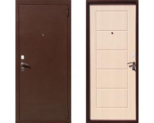 Металлическая дверь Art-Lock 2B Беленый Дуб