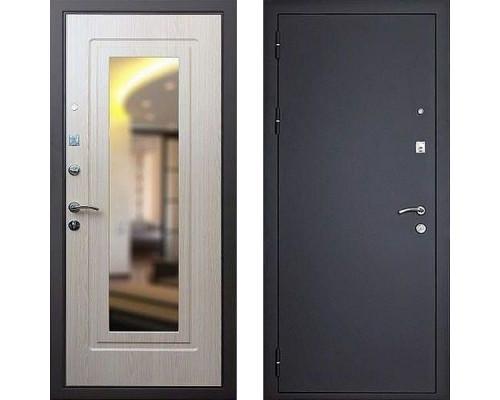 Входная дверь Art-lock 1 Беленый дуб c зеркалом