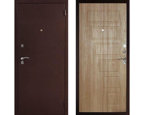 Металлическая дверь Art-Lock 2А Орех светлый