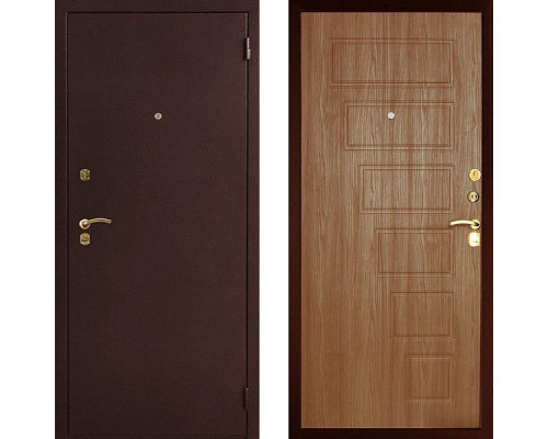 Металлическая дверь Art-Lock 2А Орех темный