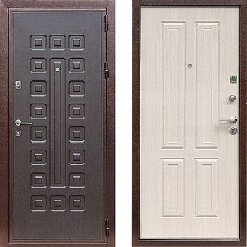 Металлическая дверь Art-Lock 49 Беленый Дуб