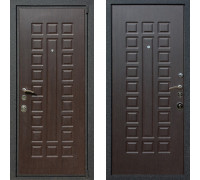 """Металлическая дверь Art-Lock 4G 16 Венге - """"Золото"""""""