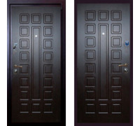 Металлическая дверь Art-Lock 4G 16 Cisa Венге