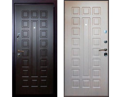 Металлическая дверь Art-Lock 4G 16 Cisa Беленый дуб
