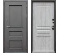 Входная дверь с терморазрывом АСД  Аляска 3К терморазрыв Сосна Белая (уличная дверь с терморазрывом)