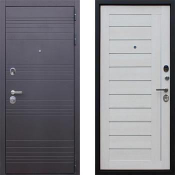 Входная металлическая дверь АСД Дуэт Белая Лиственница