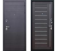 Входная металлическая дверь АСД Дуэт Орех Рифленый