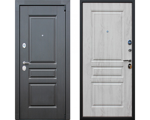Металлическая дверь АСД Гермес Сосна белая