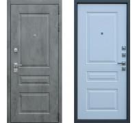 Дверь входная в квартиру АСД Лира Белый Матовый