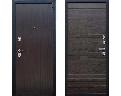 Входная металлическая дверь АСД Next 2 Венге Поперечный