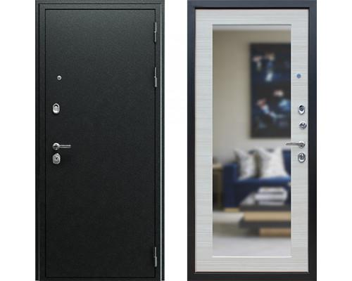Входная металлическая дверь АСД Next 1 Акация Светлая зеркало