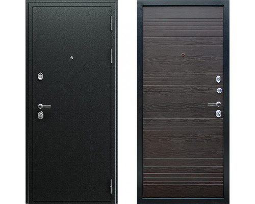 Металлическая дверь АСД Next1 Венге Поперечный