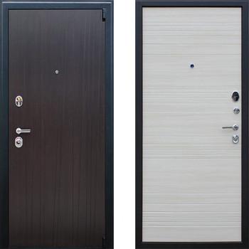 Входная металлическая дверь АСД Next 2 Акация светлая поперечная