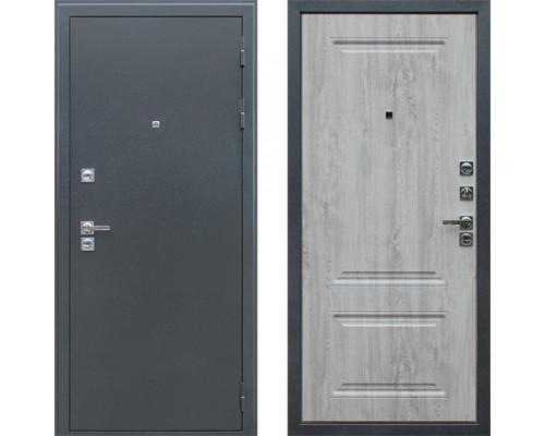 Входная уличная дверь с терморазрывом АСД Север 3к Сосна Белая (уличная дверь с терморазрывом)