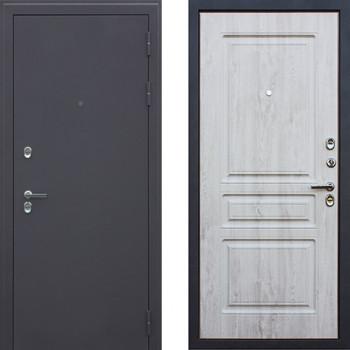 Входная дверь с терморазрывом АСД Сибирь 3к Сосна Белая