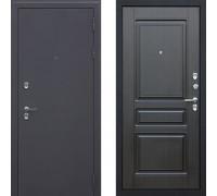 Входная уличная дверь с терморазрывом АСД Сибирь 3к Венге (уличная дверь с терморазрывом)