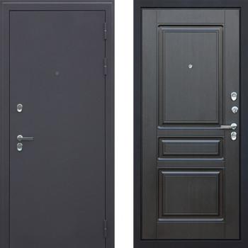 Входная уличная дверь с терморазрывом АСД Сибирь 3к Венге