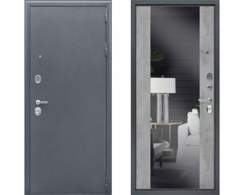 Дверь входная зеркальная АСД Спартак Б с зеркалом (двери с зеркалом)