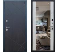 Входная металлическая дверь АСД Вектор с зеркалом