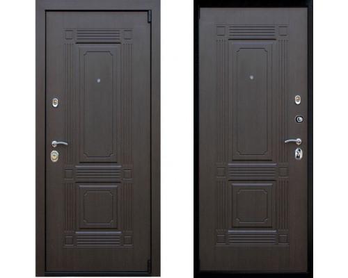 Металлическая дверь АСД Викинг Венге