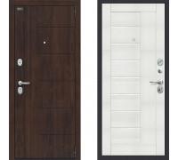 Дверь входная шумоизоляционная в квартиру Браво Оптим Модерн Бьянка Вералинга (двери с шумоизоляцией в квартиру) 980*2050 правая