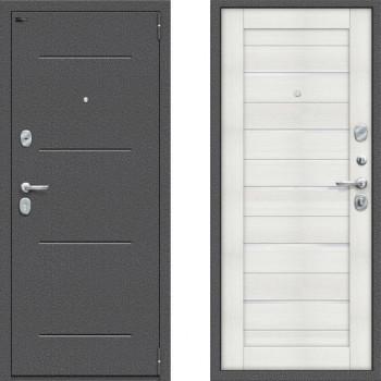 Входная металлическая дверь Браво Оптим Порта 104 Бьянка Вералинга