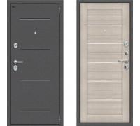 Входная дверь в квартиру металлическая Браво Оптим Порта 104 Капучино