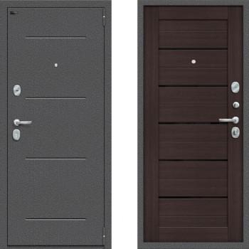 Входная металлическая дверь Браво Оптим Порта 104П22 Венге