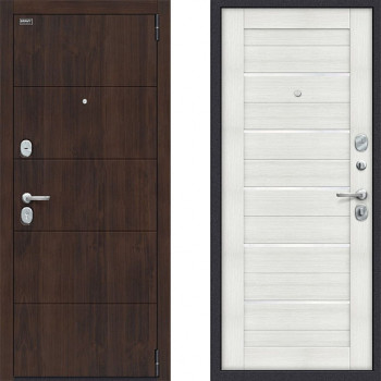 Дверь входная металлическая Браво Оптим Прайм Бьянка Вералинга
