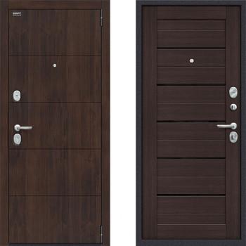 Дверь входная металлическая Браво Оптим Прайм Венге для стандартного проема