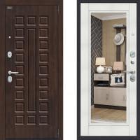Входная дверь Браво Porta S 51/П61 Урбан с зеркалом Бьянка Вералинга