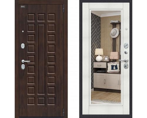 Входная дверь Браво Урбан с зеркалом Бьянка Вералинга с зеркалом