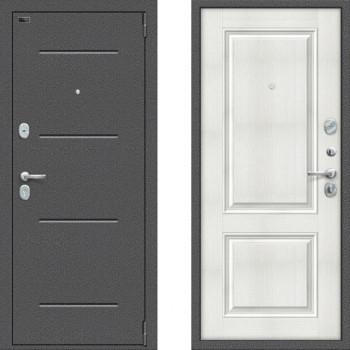 Входная металлическая дверь Браво Оптим Порта 104К32 Бьянка Вералинга