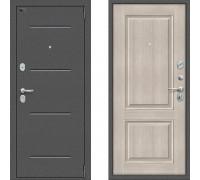 Дверь входная Браво Оптим Порта 104К32 Капучино