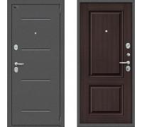Дверь входная Браво Оптим Порта 104К32 Венге