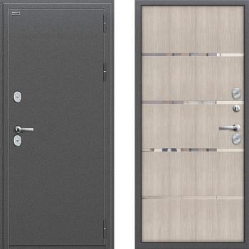Входная металлическая дверь с терморазрывом Браво Термо 204 Капучино