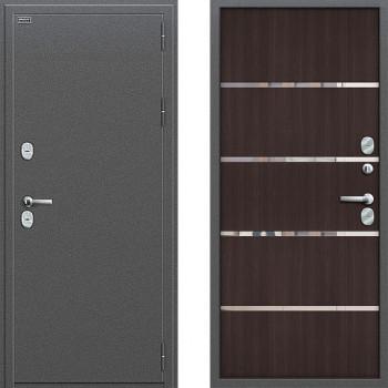 Входная металлическая дверь с терморазрывом Браво Термо 204 Венге