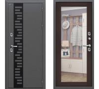 Входная дверь Браво Термо 220 с зеркалом Венге