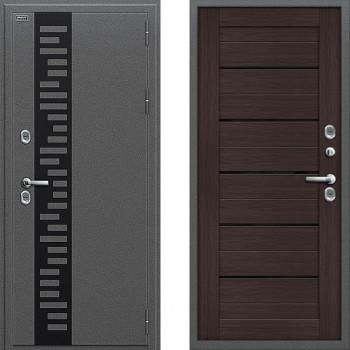 Входная металлическая дверь с терморазрывом Браво Термо 222 Венге