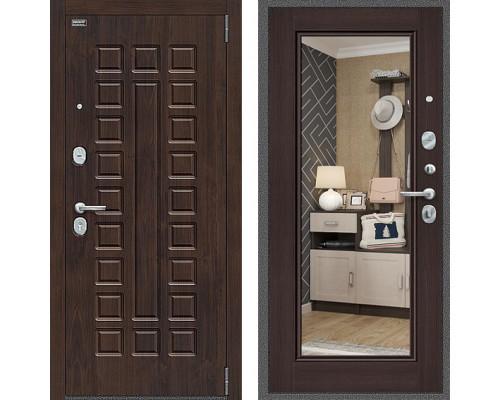 Входная дверь Браво Оптим Урбан с зеркалом Венге