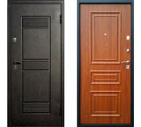 Дверь входная металлическая Йошкар Византия с двойным контуром и защитой