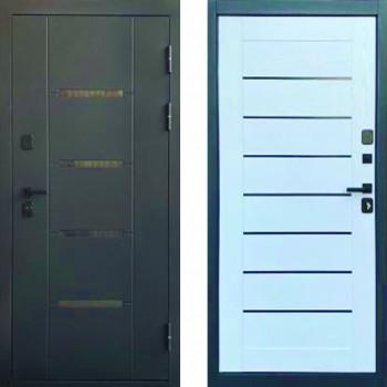 Входная металлическая дверь в квартиру Йошкар Эльбрус белое дерево в квартиру (белая дверь для квартиры)